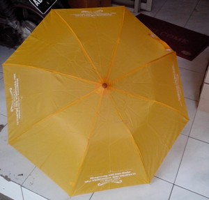 payung lipat 2 kuning 2