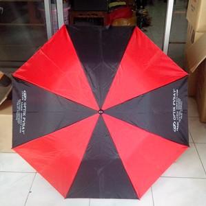 payung lipat 2 merah hitam 2