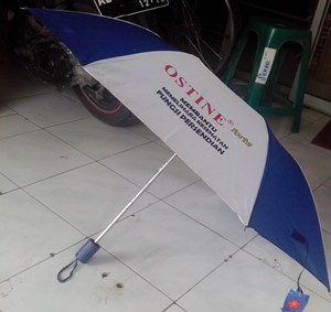 payung lipat 3 biru putih 1