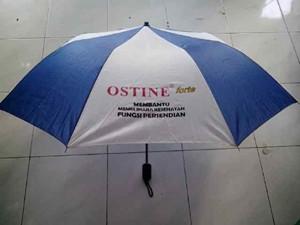 payung lipat 3 biru putih 2