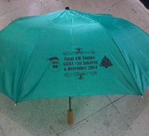 payung lipat 3 hijau 1