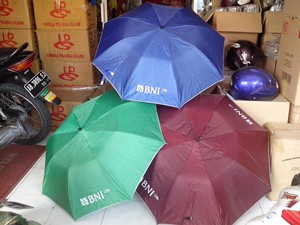 payung lipat 3 hijau 2