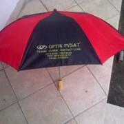 payung lipat 3 merah hitam 1