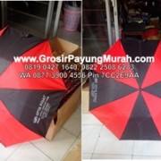 payung lipat 3 merah hitam 2
