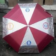 payung lipat 3 merah putih